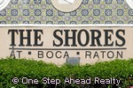 The Shores at Boca Raton community sign